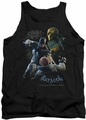 Batman Arkham Origins tank top Punch adult black