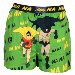 Batman mens boxers 66 Batman & Robin na na na