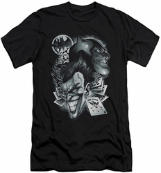 Batman Character slim-fit t-shirt Archenemies mens black