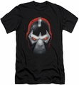 Batman Character slim-fit t-shirt Bane Head mens black