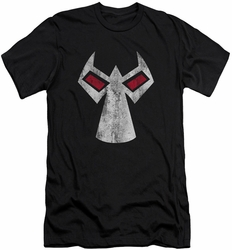 Batman Character slim-fit t-shirt Bane Mask mens black