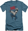 Batman Character slim-fit t-shirt Bane Vintage mens slate