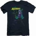 Batman Character slim-fit t-shirt Bat Spray mens navy