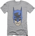 Batman Character slim-fit t-shirt Bitman mens silver