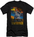 Batman Character slim-fit t-shirt Dark Knight Returns mens black