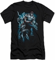 Batman Character slim-fit t-shirt Evil Rising mens black