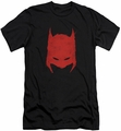 Batman Character slim-fit t-shirt Hacked and Scratched mens black