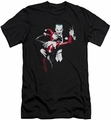 Harley Quinn slim-fit t-shirt Harley And Joker mens black