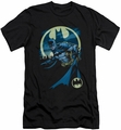 Batman Character slim-fit t-shirt Heed The Call mens black