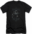 Batman Character slim-fit t-shirt I Am mens black