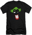 The Joker Character slim-fit t-shirt Joker Simplified mens black
