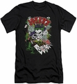 Joker Character slim-fit t-shirt Jokers Wild mens black