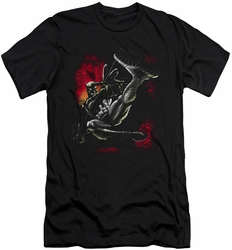 Batman Character slim-fit t-shirt Kick Swing mens black