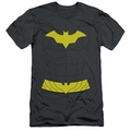 Batgirl slim-fit t-shirt New Batgirl Uniform mens charcoal