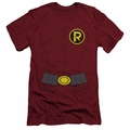 Robin slim-fit t-shirt New Robin Uniform mens cardinal