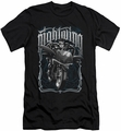 Nightwing Character slim-fit t-shirt Biker mens black