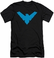Nightwing Character slim-fit t-shirt Nightwing mens black