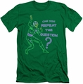 The Riddler Character slim-fit t-shirt Repeat mens kelly green