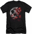 Batman Character slim-fit t-shirt Robin Spotlight mens black
