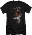 Joker Character slim-fit t-shirt Smile Of Evil mens black