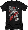 Harley Quinn Character slim-fit t-shirt Smoking Gun mens black