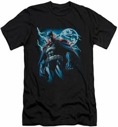 Batman Character slim-fit t-shirt Stormy Knight mens black