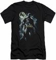 Batman Character slim-fit t-shirt The Knight mens black