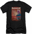 Two-Face Character slim-fit t-shirt Two Faces mens black