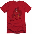 Batman Character slim-fit t-shirt Wingman mens red