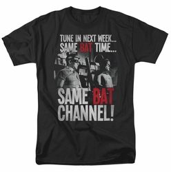 Batman Classic 1966 t-shirt Bat Channel mens black
