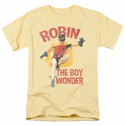 Batman Classic 1966 t-shirt Boy Wonder mens banana