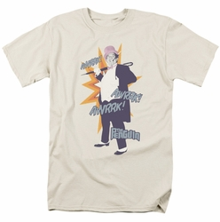 Batman Classic 1966 t-shirt Penguin mens cream