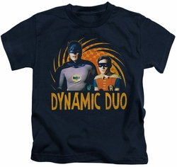 Batman Classic 1966 TV kids t-shirt Dynamic navy