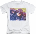 Batman Classic 1966 TV kids t-shirt Smooth Groove white