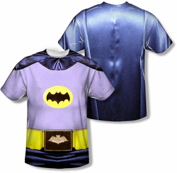 Batman Classic 1966 TV mens full sublimation t-shirt Batman Costume