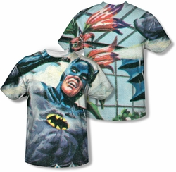 Batman Classic 1966 TV mens full sublimation t-shirt Foliage