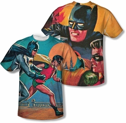 Batman Classic 1966 TV mens full sublimation t-shirt Let's Go