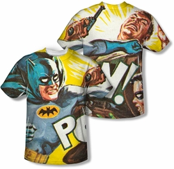 Batman Classic 1966 TV mens full sublimation t-shirt On The Chin