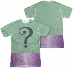 Batman Classic 1966 TV mens full sublimation t-shirt Riddler Uniform