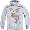 Batman Classic 1966 TV pull-over hoodie Classified adult athletic heather