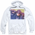Batman Classic 1966 TV pull-over hoodie Smooth Groove adult white