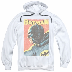 Batman Classic 1966 TV pull-over hoodie Vintman adult white