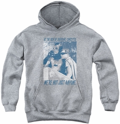 Batman Classic TV 1979 youth teen hoodie Boogie Nights athletic heather