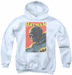Batman Classic TV 1984 youth teen hoodie Vintman white