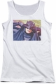 Batman Classic TV juniors tank top Smooth Groove white