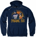 Batman Classic TV pull-over hoodie Dynamic adult navy