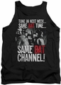 Batman Classic TV tank top Bat Channel adult black
