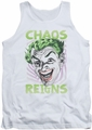 Batman Classic TV tank top Chaos Reigns adult white