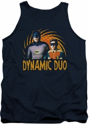 Batman Classic TV tank top Dynamic adult navy