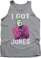 Batman Classic TV tank top Got Jokes adult athletic heather